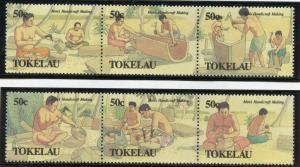 TOKELAU SCOTT#174a & 177a   MINT NH  AS SHOWN