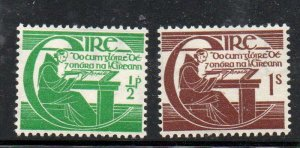 Ireland Sc 128-29 1944 Brother O'Clery stamp set mint