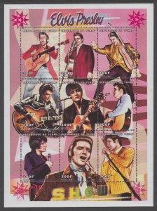 Chad 846 Elvis Souvenir Sheet MNH VF