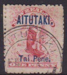 Aitutaki Sc#2 Used