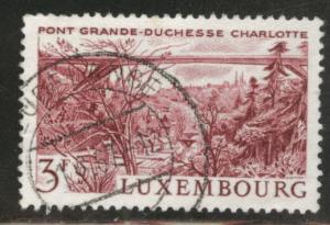 Luxembourg Scott 444 Used 1966 Bridge stamp