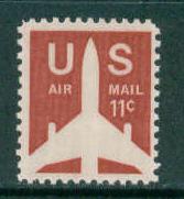 C78 11c Jet Fine MNH Plt/4 UL 32941 F09766