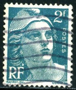 FRANCE #536, USED - 1945 - FRAN034