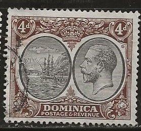 Dominica | Scott # 75 - Used