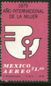 MEXICO C456, International Womens Year.  MINT, NH. F-VF.