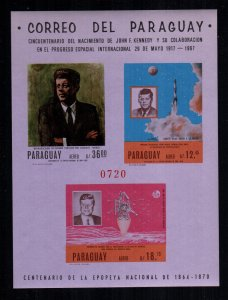 Paraguay  1050a  MNH cat $ 30.00  imperf aaa