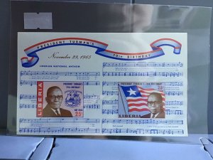 Republic of Liberia President Truman's 70th Birthday MNH stamps sheet R26971