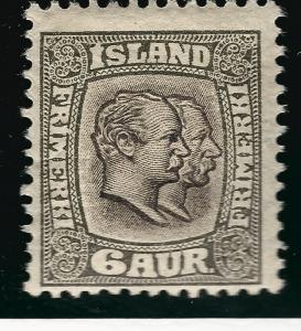 Iceland Attractive Sc#75 Mint Fine $60.00...Worth a  Look!!