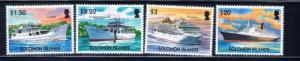 Solomon Is 977-80 NH 2004 Ships