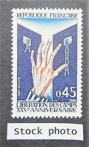 France 1282. 1970 Concentration Camp Liberation, NH