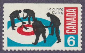 Curling - Scott#490  MNH