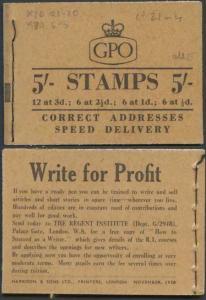 H36 November 1958 EEEEE 5/- Booklet