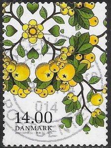 Denmark 1694 Used - Berries - Firethorn