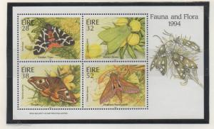 Ireland Sc 934a 1994 Moths stamp sheet mint
