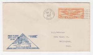 IDAHO FALLS, ID., 1934 ffc.