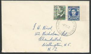 PAPUA NEW GUINEA 1952 AUSTRALIA PERIOD cover BULOLO cds....................13411