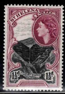 Saint Helena Scott 142 MH* 1.5p QE2 stamp 1953 CV $3.25