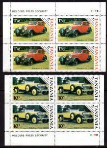 TANZANIA 263, 365 MH 2/BLOCKS/4 SCV $2.00 BIN $1.00 CARS
