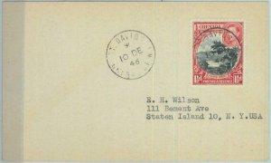 83337 - GRENADA - Postal History -  CARD to USA 1946 : ST. DAVIDS
