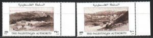 Palestine. 1997. 72-73. Historical views of cities. MNH.