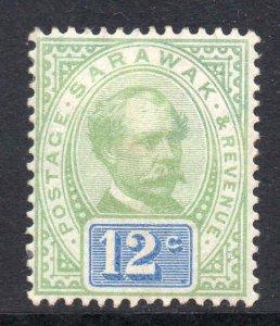 Sarawak 1888 Postage Revenue 12c SG 16 mint CV £19
