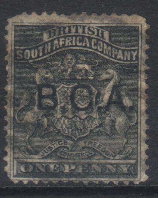 NYASALAND 1891-1895 OPTD SG1 USED CAT £12