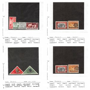 Lot of 71 Panama MH Mint Hinged & Used Stamps #147224 X R