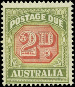 Australia Scott #J66 Mint Never Hinged