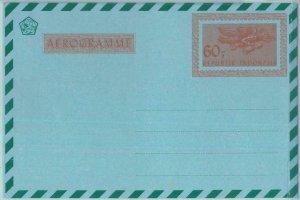 86224 - INDOCHINESIA  - Postal History - Stationery AEROGRAMME:  60- Orange