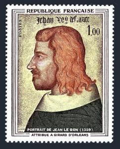 France 1084,MNH.Michel 1466. John II the Good,by Girand d'Orleans,1964.