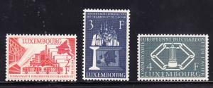 Luxembourg 1956 Coal & Steel Union  EUROPA Forerunner VF/NH(**)