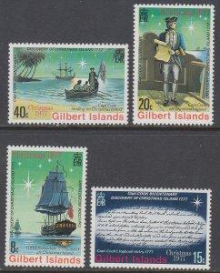 Gilbert Islands 300-303 MNH VF