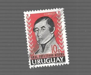 Uruguay 1962 - Scott #686 *