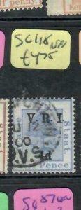 ORANGE FREE STATE  (P0406B)  TREE  VRI  4D  SG 118   VFU