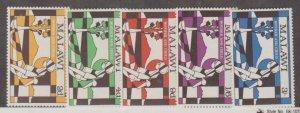 Malawi Scott #142-146 Stamps - Mint NH Set