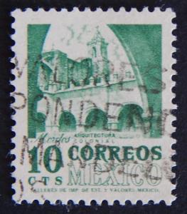 Postage stamp, Mexico, №9-(30M-1IR)