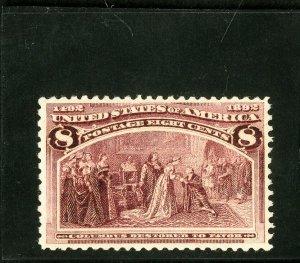 US Stamps # 236 MNH Superb PO Fresh