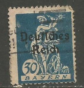 GERMANY BAVARIA 260 VFU 107D-3