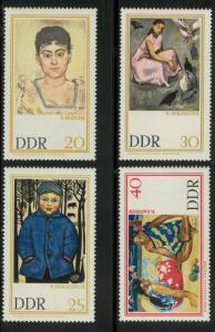 German Democratic Republic 909-914 Mint VF NH (910 thin)