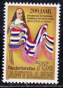 Netherlands Antilles # 478, U.S. - Netherlands Relations, NH