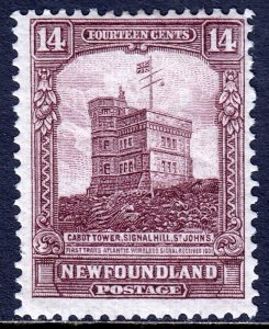 Newfoundland - Scott #155 - MH - One pulled perf - SCV $10.50