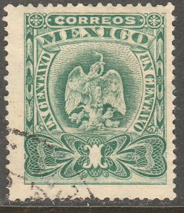 MEXICO 294, 1¢ EAGLE COAT OF ARMS. USED. VF. (186)