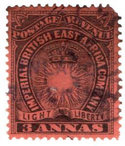 (I.B) KUT Revenue : British East Africa Duty 3a (Inland Revenue)