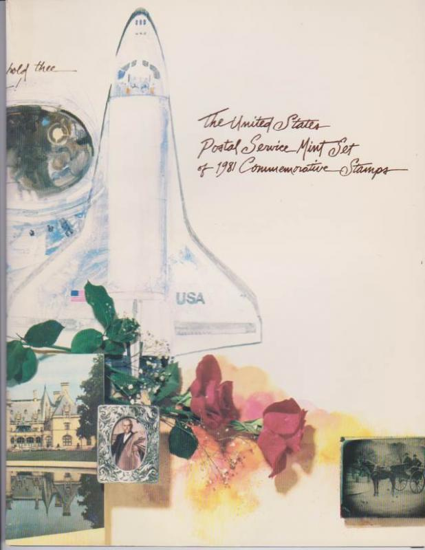 USA -1981 SOUVENIR MINT SET-MINI ALBUM. LOT#US269