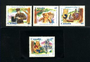 Canada #1618-21    -1    used VF 1996  PD