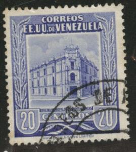 Venezuela  Scott 654 used  stamp