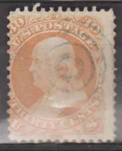 U.S. Scott #71 Franklin Stamp - Used Single