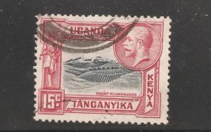 Kenya Uganda Tanganyika - Scott # 49