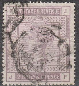 Great Britain #96 F-VF Used CV $165.00  (S6462)