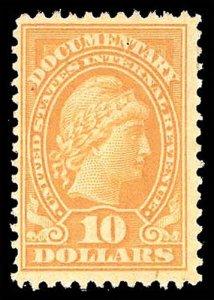 U.S. REV. DOCUMENTARY R245  Mint (ID # 94513)
